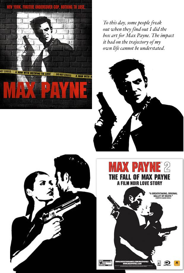 Jennymarie Jemison Max Payne cover art