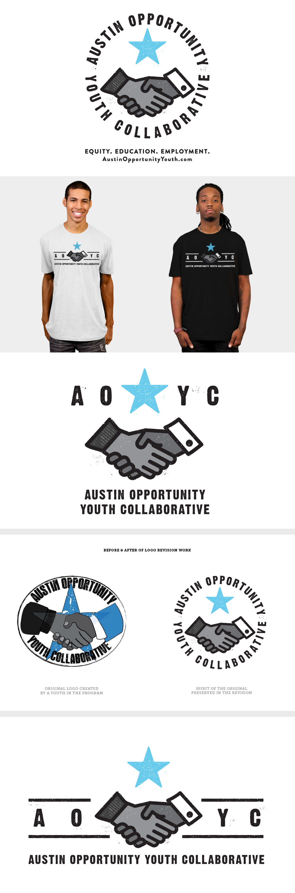 Logo Redesign for AYOC by Five and Four